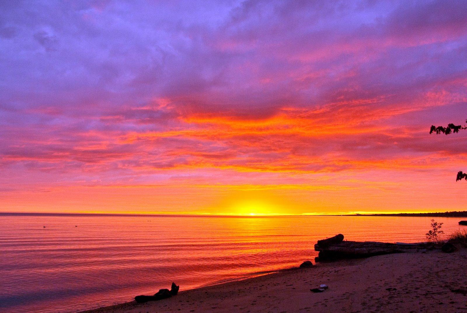 beautiful sunrise on a -#main